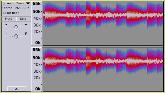 Music FM encoded with 45kHz carrier frequency